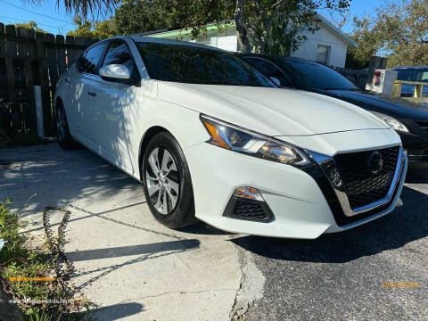 2019 Nissan Altima for sale at Sheldon Motors in Tampa FL