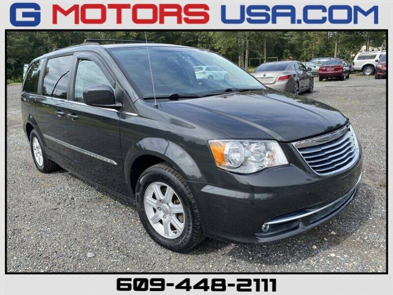 2012 Chrysler Town and Country for sale at G Motors in Monroe NJ