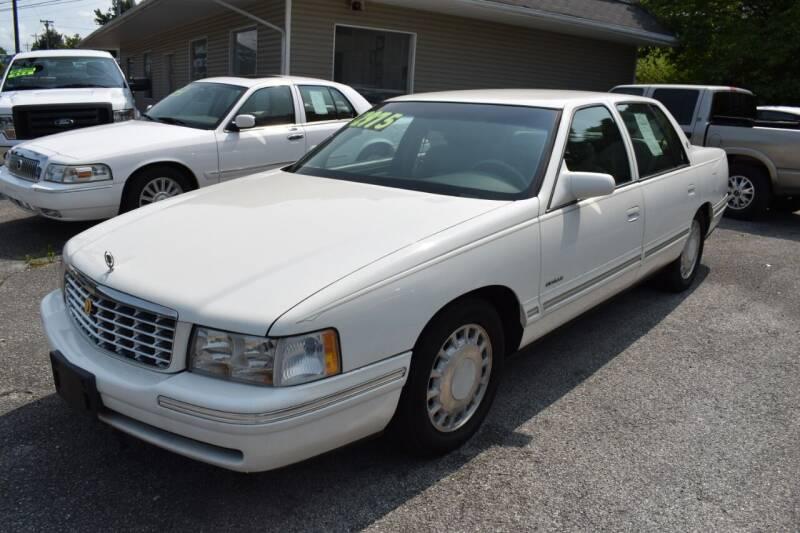 1997 Cadillac DeVille for sale at Gamble Motor Co in La Follette TN