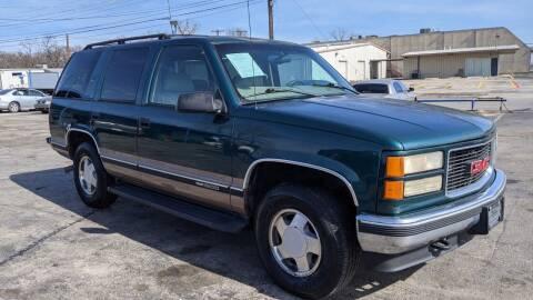 1998 GMC Yukon for sale at Dave-O Motor Co. in Haltom City TX