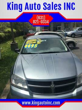 2008 Dodge Avenger for sale at King Auto Sales INC in Medford NY