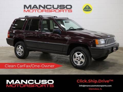 1995 Jeep Grand Cherokee for sale at Mancuso Motorsports in Glenview IL