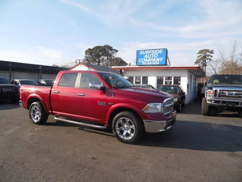 2015 RAM Ram Pickup 1500 for sale at Surfside Auto Company in Norfolk VA