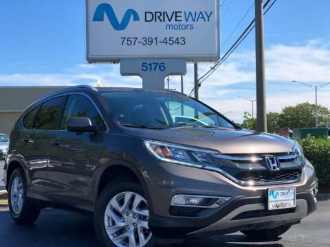 2016 Honda CR-V for sale at Driveway Motors in Virginia Beach VA