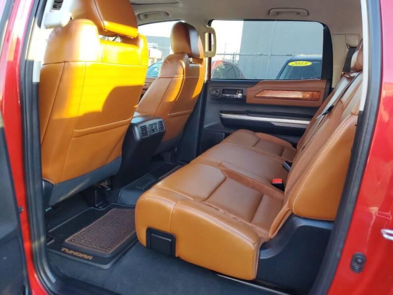 2014 Toyota Tundra 4x4 1794 Edition 4dr CrewMax Cab Pickup SB (5.7L V8) - Freeport NY