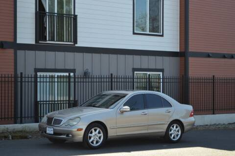 2001 Mercedes-Benz C-Class for sale at Skyline Motors Auto Sales in Tacoma WA