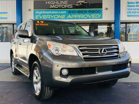 2012 Lexus GX 460 for sale at Highline Motors in Aston PA