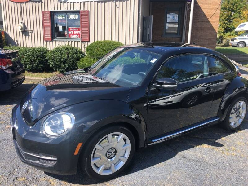 2016 Volkswagen Beetle for sale at Mehan's Auto Center in Mechanicville NY
