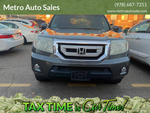2009 Honda Pilot for sale at Metro Auto Sales in Lawrence MA