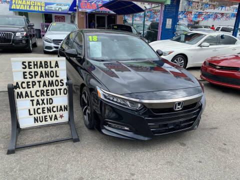 2018 Honda Accord for sale at Cedano Auto Mall Inc in Bronx NY