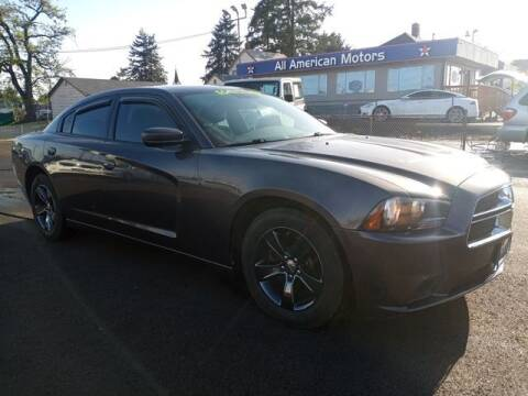 2013 Dodge Charger for sale at All American Motors in Tacoma WA