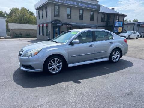 2013 Subaru Legacy for sale at Sisson Pre-Owned in Uniontown PA