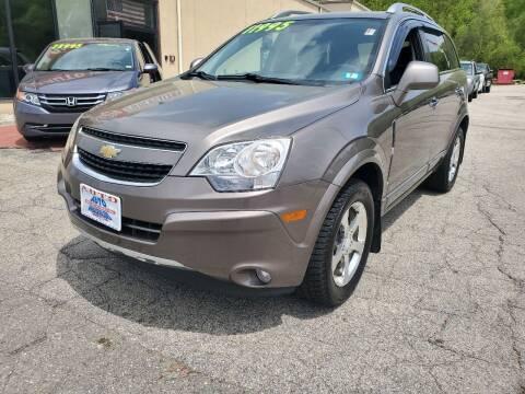 2012 Chevrolet Captiva Sport for sale at Auto Wholesalers Of Hooksett in Hooksett NH