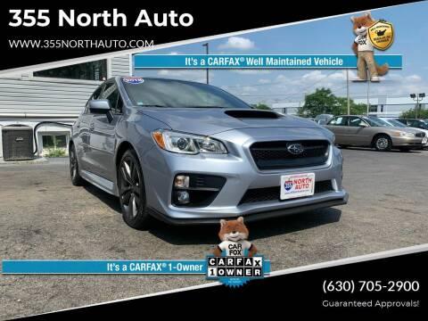 2016 Subaru WRX for sale at 355 North Auto in Lombard IL