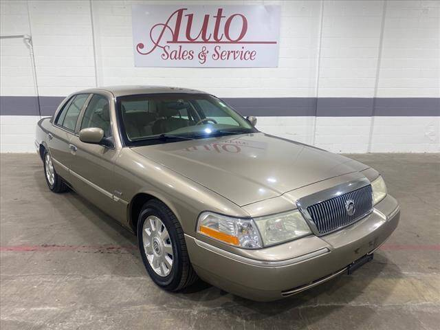 2004 Mercury Grand Marquis for sale at Auto Sales & Service Wholesale in Indianapolis IN