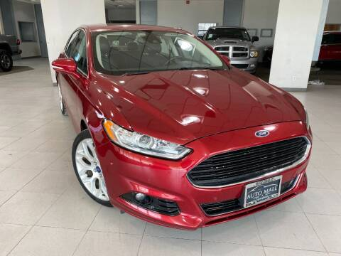 2014 Ford Fusion for sale at Auto Mall of Springfield in Springfield IL