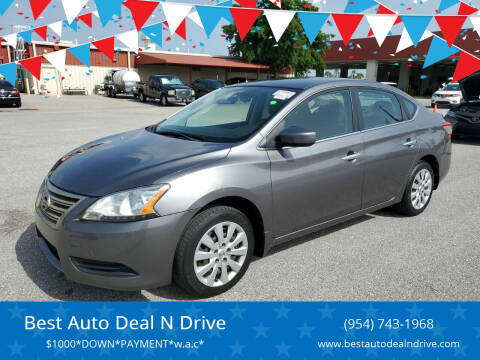2015 Nissan Sentra for sale at Best Auto Deal N Drive in Hollywood FL