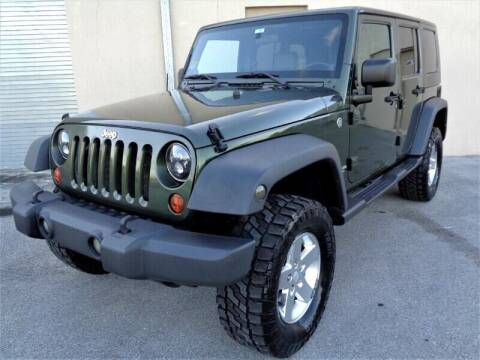 2008 Jeep Wrangler Unlimited for sale at Selective Motor Cars in Miami FL
