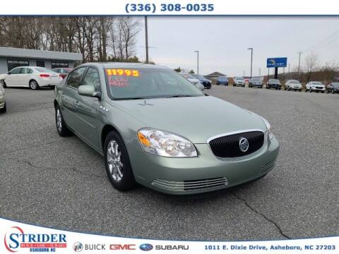 2007 Buick Lucerne for sale at STRIDER BUICK GMC SUBARU in Asheboro NC