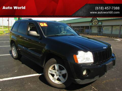 2006 Jeep Grand Cherokee for sale at Auto World in Carbondale IL