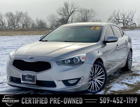 2014 Kia Cadenza for sale at Premier Auto Group in Union Gap WA