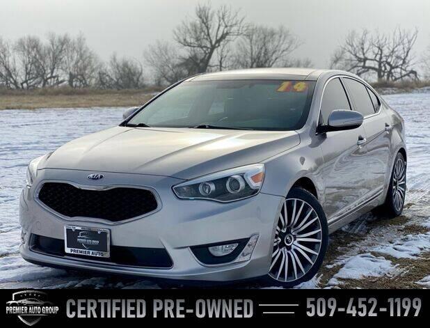 2014 Kia Cadenza for sale at Premier Auto Group in Union Gap WA