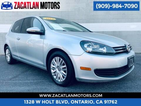 2012 Volkswagen Golf for sale at Ontario Auto Square in Ontario CA