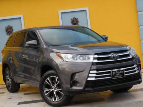 2018 Toyota Highlander for sale at Paradise Motor Sports LLC in Lexington KY