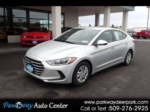 2018 Hyundai Elantra for sale at PARKWAY AUTO CENTER AND RV in Deer Park WA