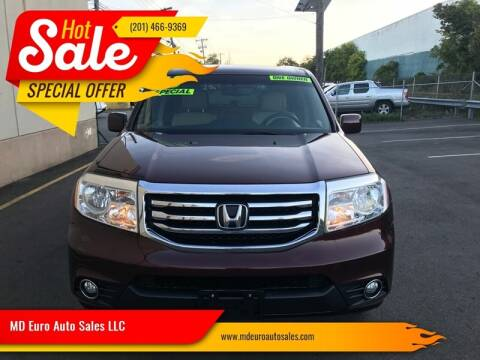2013 Honda Pilot for sale at MD Euro Auto Sales LLC in Hasbrouck Heights NJ