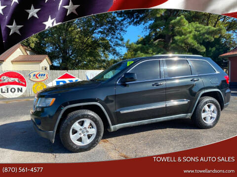 2011 Jeep Grand Cherokee for sale at Towell & Sons Auto Sales in Manila AR