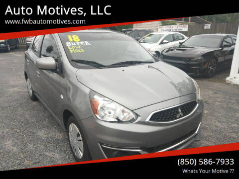 2018 Mitsubishi Mirage for sale at Auto Motives, LLC in Fort Walton Beach FL