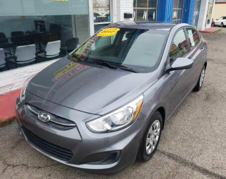 2017 Hyundai Accent for sale at AutoMotion Sales in Franklin OH
