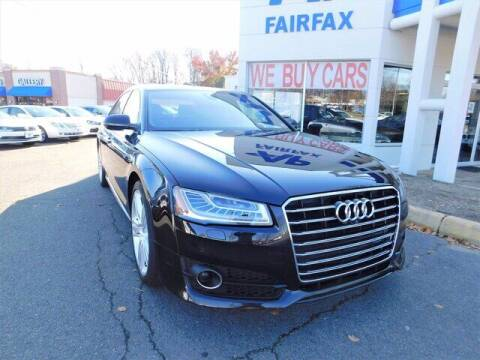 2016 Audi A8 L for sale at AP Fairfax in Fairfax VA