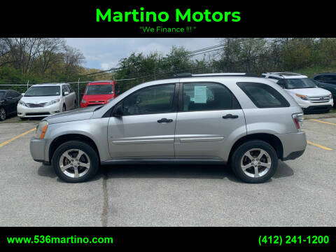 2007 Chevrolet Equinox for sale at Martino Motors in Pittsburgh PA