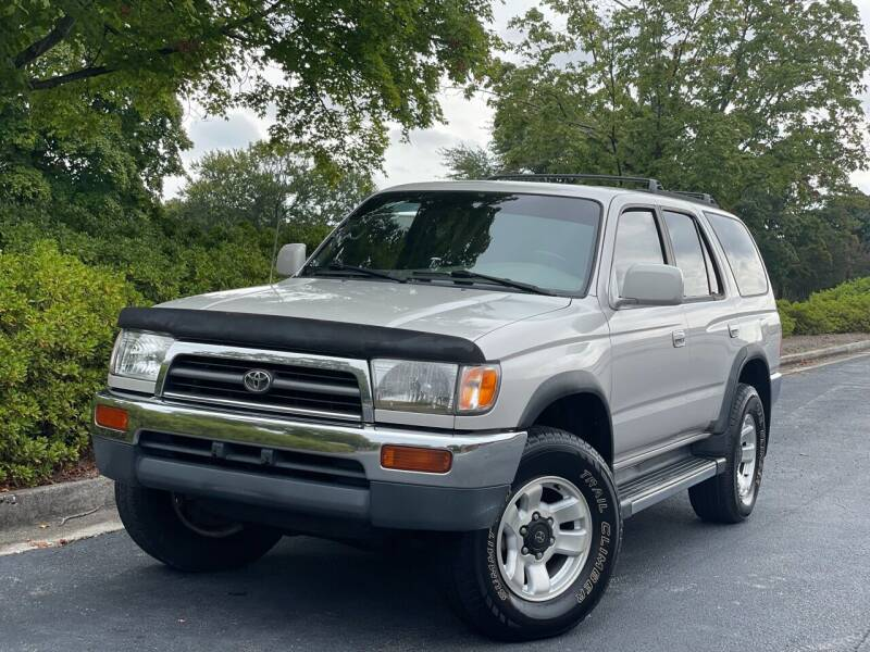1997 Toyota 4Runner for sale at William D Auto Sales in Norcross GA