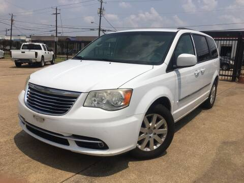 2014 Chrysler Town and Country for sale at TETCO AUTO SALES  / TETCO FUNDING in Dallas TX