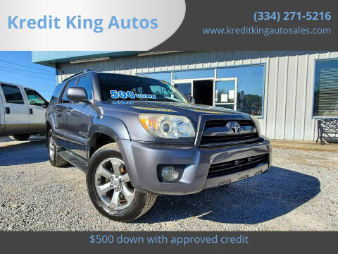 2007 Toyota 4Runner for sale at Kredit King Autos in Montgomery AL