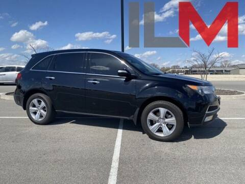 2011 Acura MDX for sale at INDY LUXURY MOTORSPORTS in Fishers IN