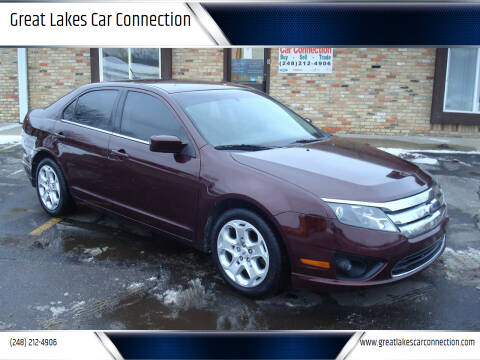 2011 Ford Fusion for sale at Great Lakes Car Connection in Metamora MI