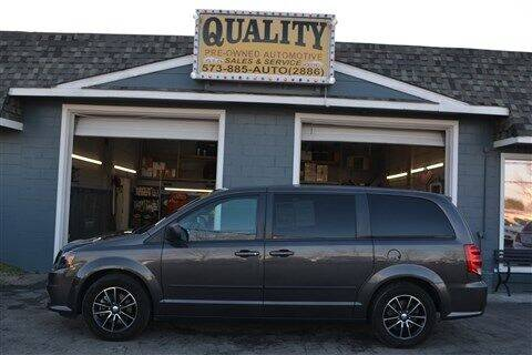 2015 Dodge Grand Caravan for sale at Quality Pre-Owned Automotive in Cuba MO