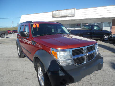 2007 Dodge Nitro for sale at VEST AUTO SALES in Kansas City MO