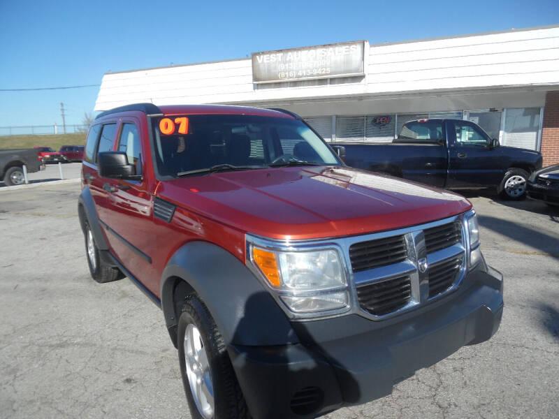 2007 Dodge Nitro for sale at VEST AUTO SALES in Kansas City MO