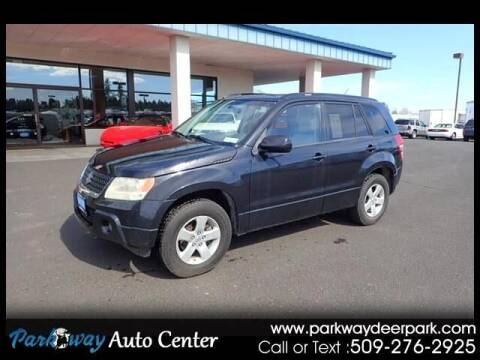 2009 Suzuki Grand Vitara for sale at PARKWAY AUTO CENTER AND RV in Deer Park WA