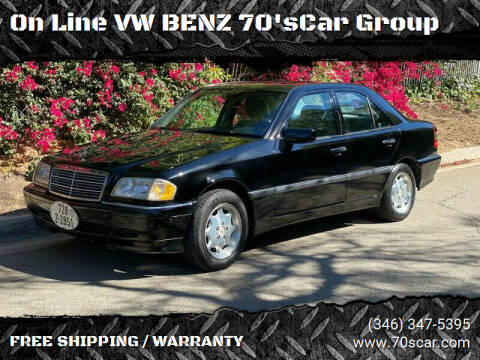2000 Mercedes-Benz C-Class for sale at On Line VW BENZ 70'sCar Group in Warehouse CA