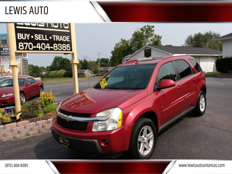 2006 Chevrolet Equinox for sale at LEWIS AUTO in Mountain Home AR