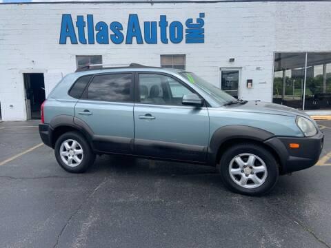 2005 Hyundai Tucson for sale at Atlas Auto in Rochelle IL