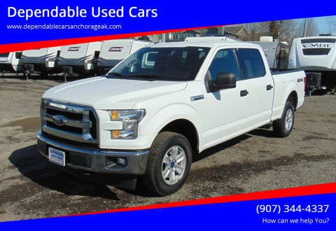 2017 Ford F-150 for sale at Dependable Used Cars in Anchorage AK