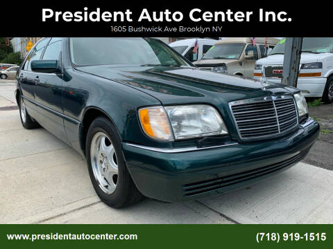 1997 Mercedes-Benz S-Class for sale at President Auto Center Inc. in Brooklyn NY