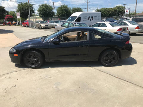 1998 Mitsubishi Eclipse for sale at Mike's Auto Sales of Charlotte in Charlotte NC